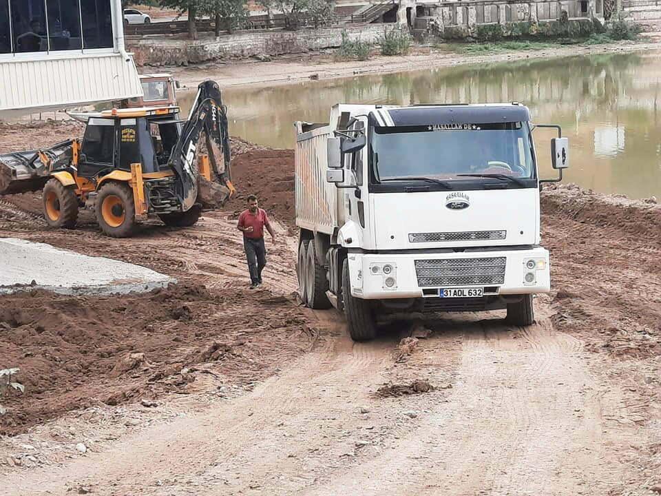 Yenişehir Gölü'nde çalışmalar sürüyor