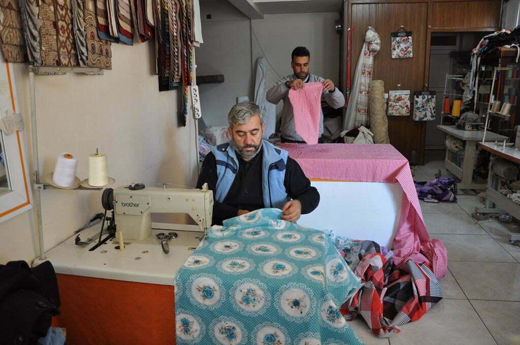 Kuveytli işadamlarının desteğiyle Halep'e kışlık yardım