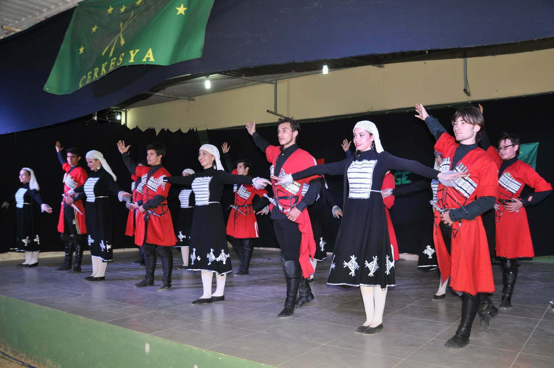REYHANLI'DA ÇERKES FESTİVALİ