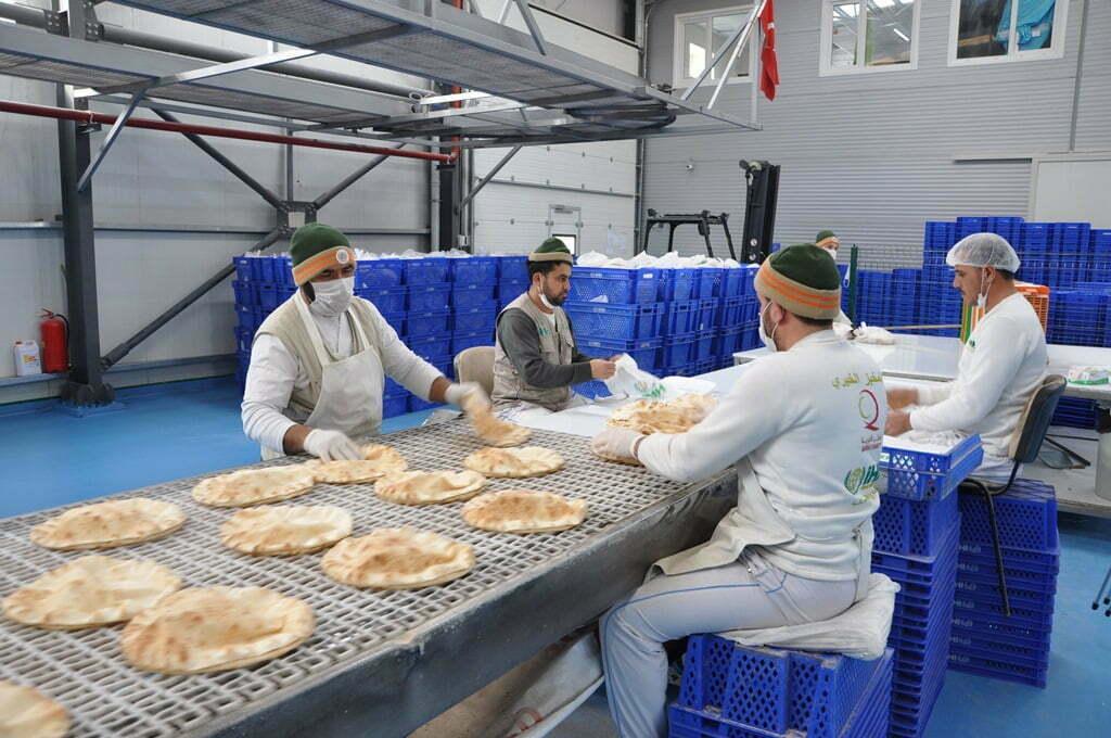 İhh Suriye'ye 8 Ayda 1 Milyon Ekmek Gönderdi