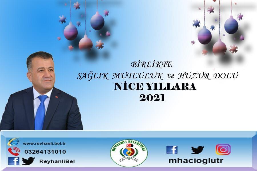 Başkan Hacıoğlu'nun Yeni Yıl Mesajı