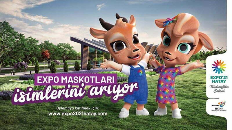 EXPO maskotları isimlerini arıyor