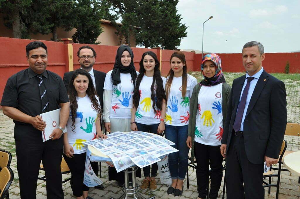 Öğrenciler projelerini tanıttı