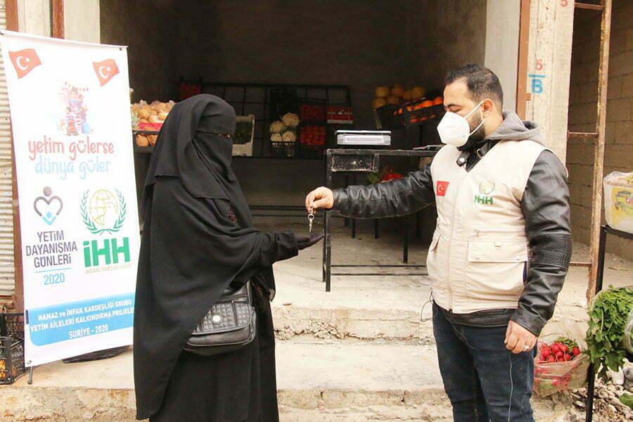 Suriyeli yetim aileleri  kalkındırma projeleriyle hayata tutunuyor