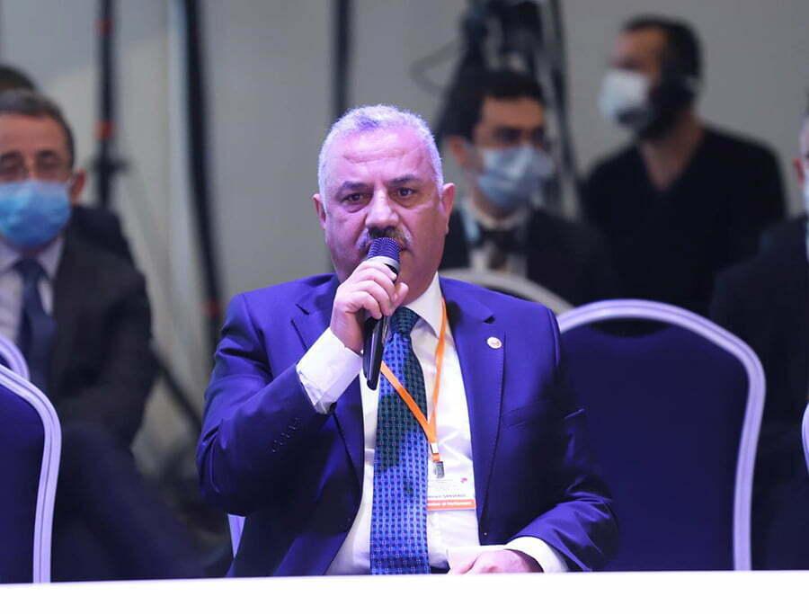 Hatay Milletvekili Hüseyin Şanverdi  Uluslararası toplantıya katıldı
