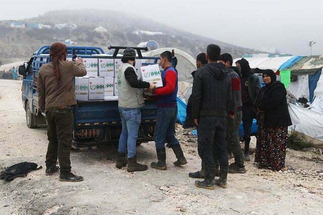 Suriyeli Türkmenlere Gıda Yardımı