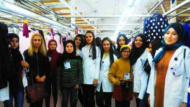 Reyhanlı Mesleki ve Teknik Anadolu  Lisesi öğrencileri, Bükreş'te staj gördü
