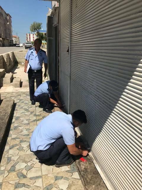 Sağlık kurallarına uyulmayan 5 işyeri kapatıldı