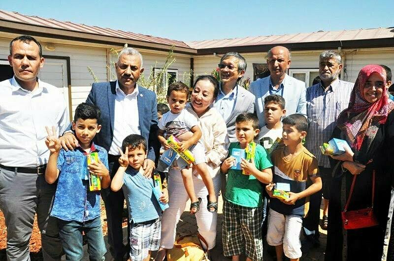 Tayvan Temsilcisi Suriyeli yetimleri ziyaret etti