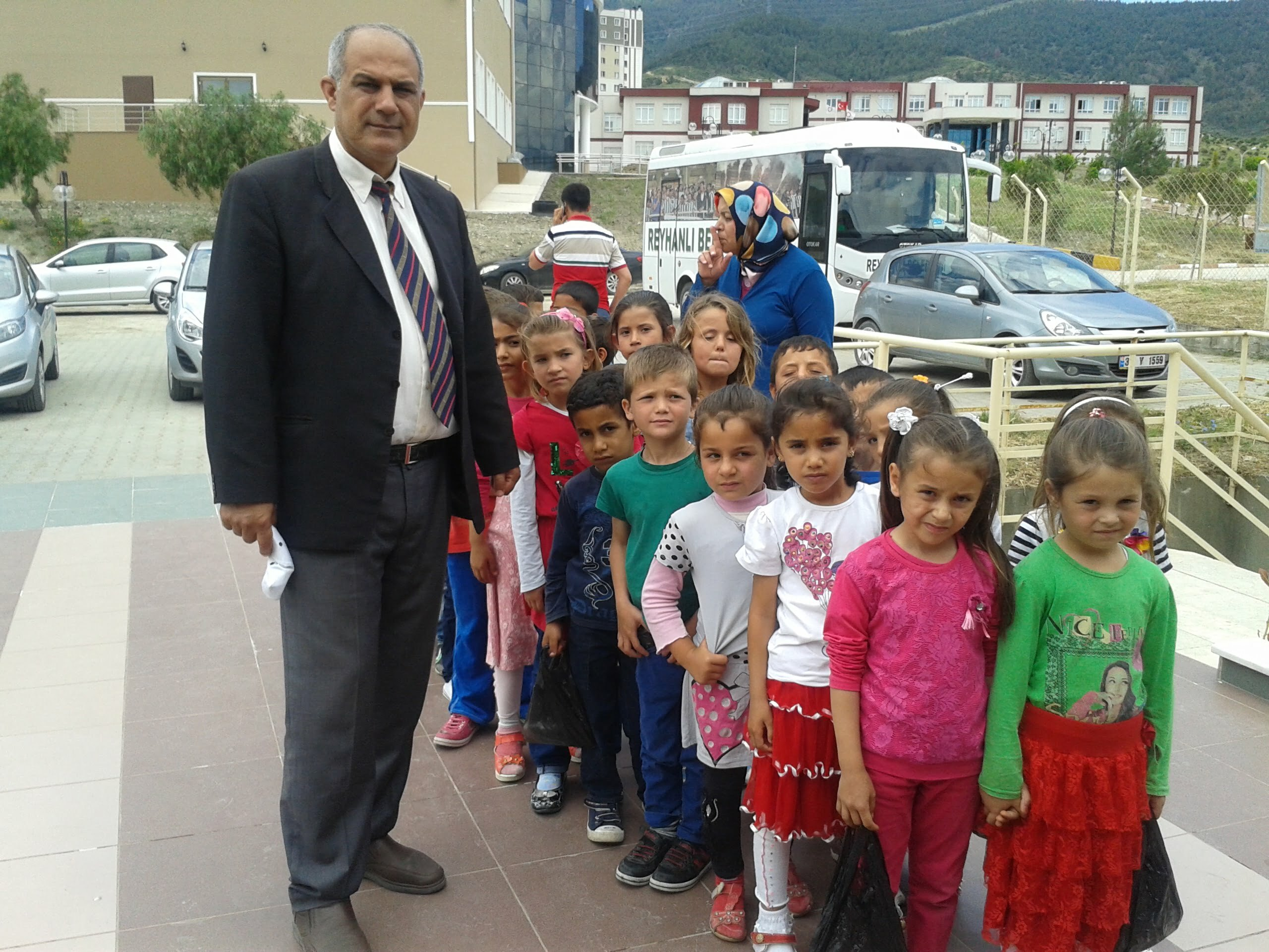 Karadeniz İlkokulu Öğrencilerine Gezi Turu