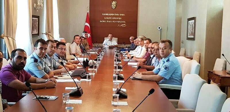 Trafik Kazalarını Önleme Planı Toplantısı Yapıldı