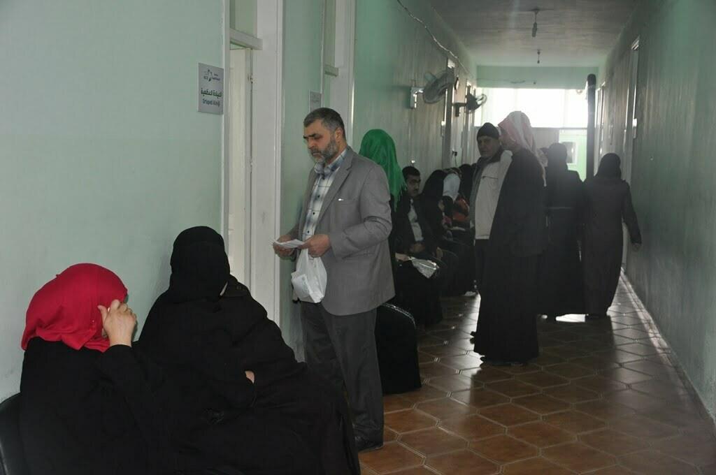 Suriyelilerin Geçici Sağlık Merkezi Hastane Gibi Hizmet Veriyor