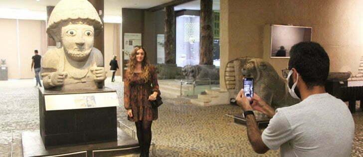 Dünyanın en büyük mozaik müzesi 75 bin misafir ağırladı