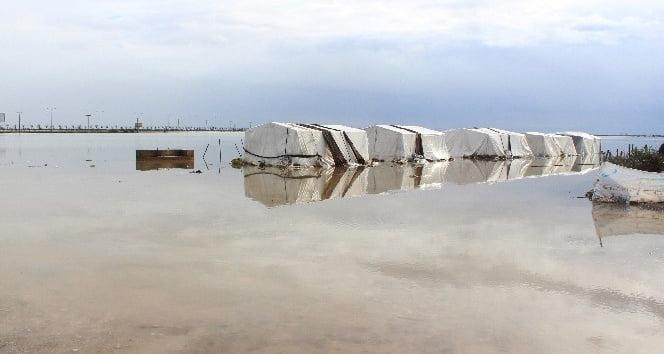 Amik Ovası sular altında kaldı