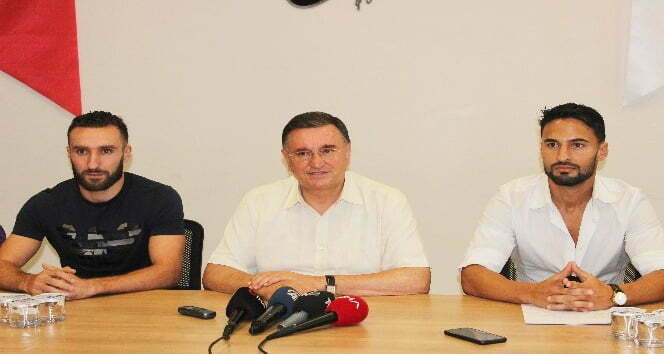 Hatayspor, Barbosa ve Ouali'yi kadrosuna kattı
