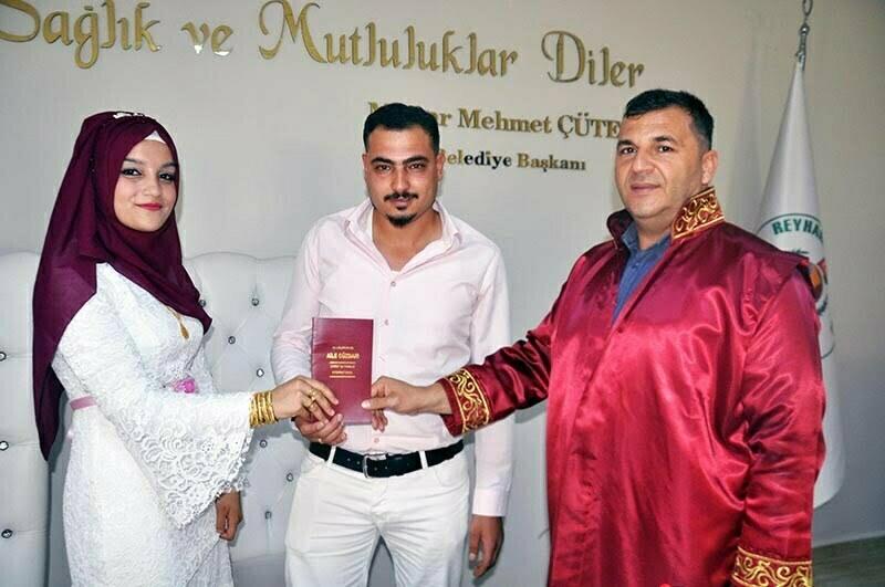 8.8.2018'in ilk nikahı kıyıldı