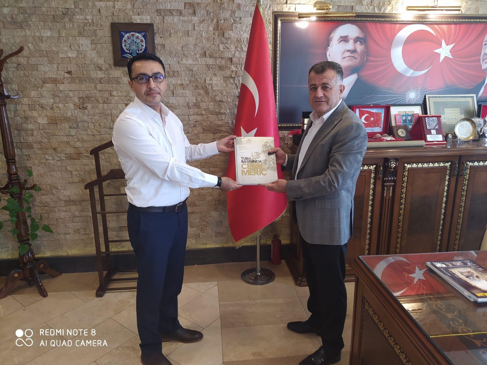 BİK Hatay Şube Müdürü Parlak'tan Başkan Hacıoğlu'na ziyaret