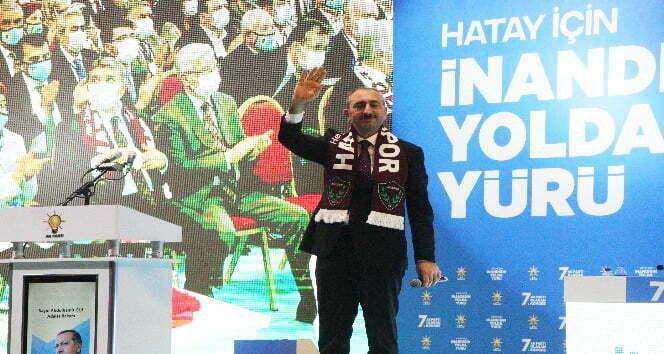 """Bakan Gül """"Cumhuriyetimizin ikinci yüz yılına yeni bir anayasa ile gireceğiz"""""""