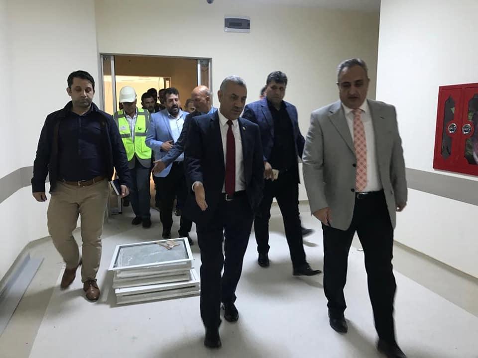 Şanverdi; Reyhanlı Devlet Hastanesi yüzde 95 oranında tamamlandı