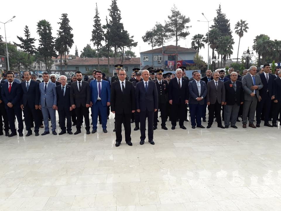 Reyhanlı'da, Atatürk'ü anma töreni