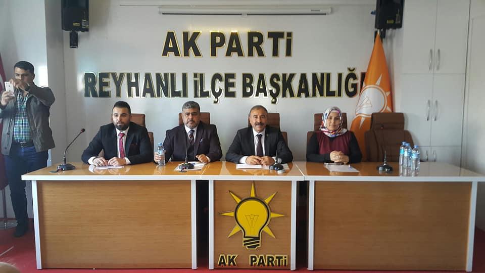 """AK Parti Reyhanlı Belediye Başkan aday adayı Mehmet Yumuşak, """"Hedefim, Reyhanlı'yı Hatay'ın incisi yapmak"""""""