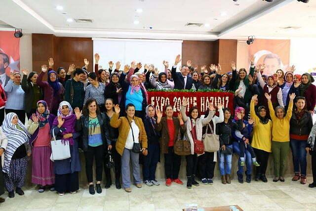 GİRİŞİMCİ KADINLAR EXPO 2021'E HAZIR