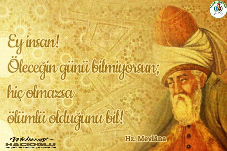 Başkan Hacıoğlu'nun Mevlana Haftası Mesajı