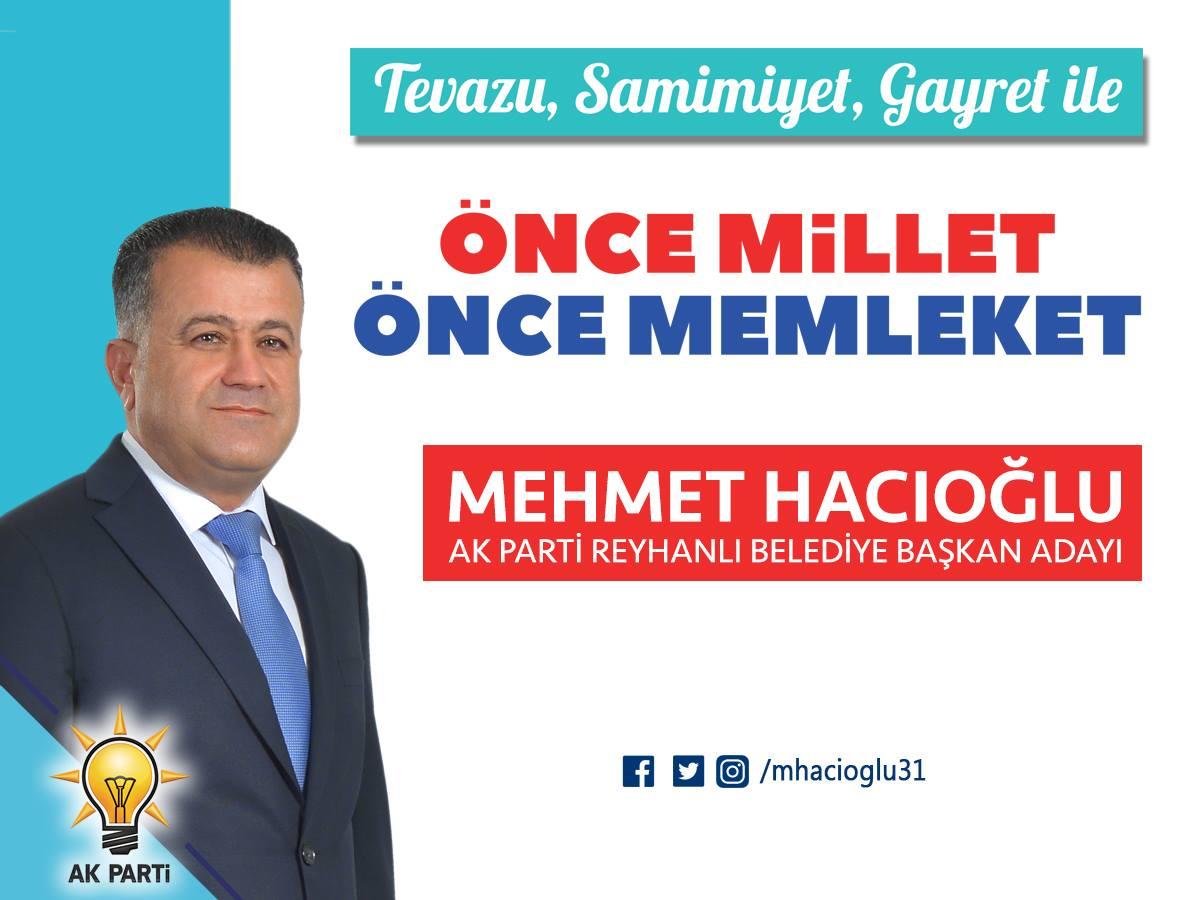 Cumhur ittifakı Belediye Başkan adayı Mehmet Hacıoğlu oldu