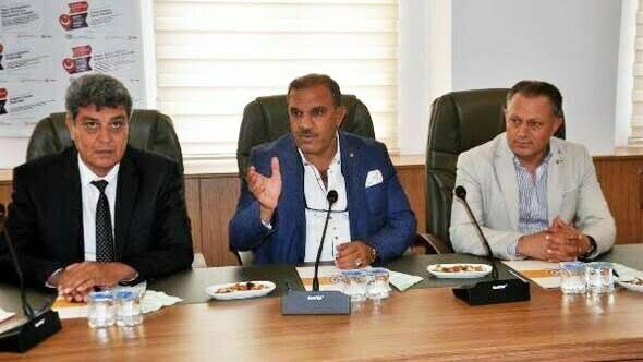 Reyhanlı'nın kardeş Ticaret Odası Nizip'ten ziyaret