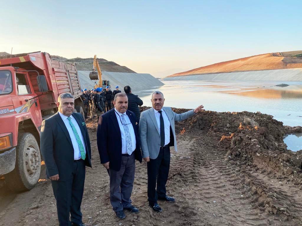Şanverdi: Reyhanlı Barajı Amik Ovası'na Can Suyu Olacak