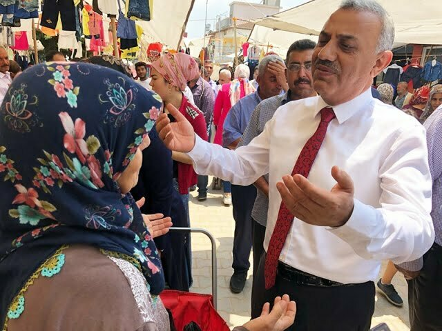 """Şanverdi, """"Seçimleri sadece Türkiye değil dünya bekliyor"""""""