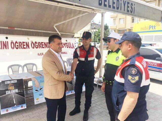 """Başkan Hacıoğlu, """"Yaya Öncelikli Trafik Yılı"""" Ve Trafik Haftası Etkinliğine katıldı"""