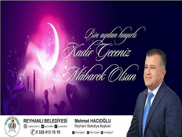 Başkan Hacıoğlu'nun Kadir Gecesi Kutlama Mesajı