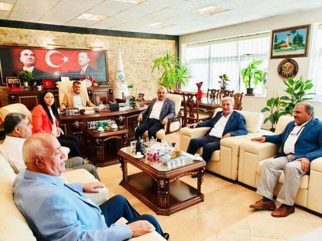 Başkan Hacıoğlu'na ziyaret