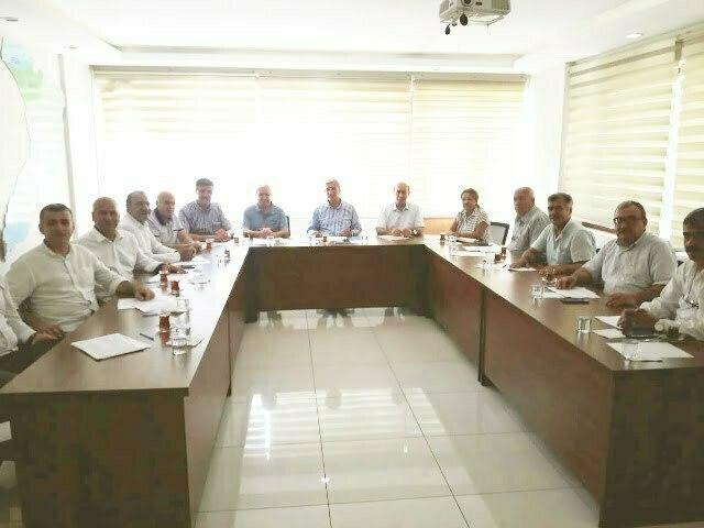 AK Parti ilçe koordinatörleri görevlendirildi Başkan Yeloğlu: AK Parti millete hizmet için var