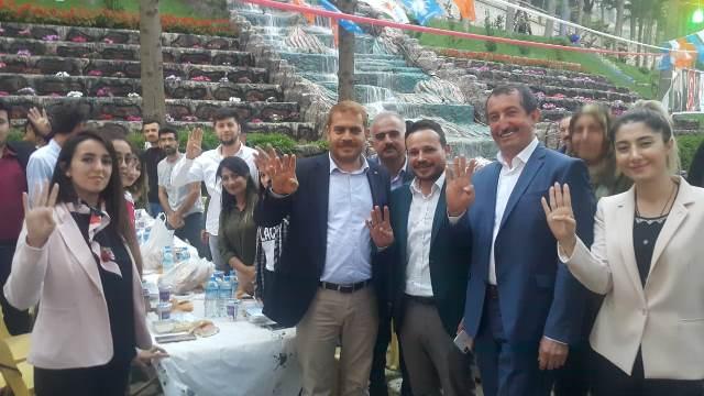Belen'de Ramazan coşkusu AK Parti kadrolarıyla yaşandı