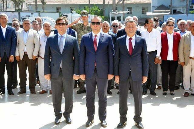 Türk Askeri'nin Reyhanlı'ya girişinin 80. yıl dönümü kutlandı