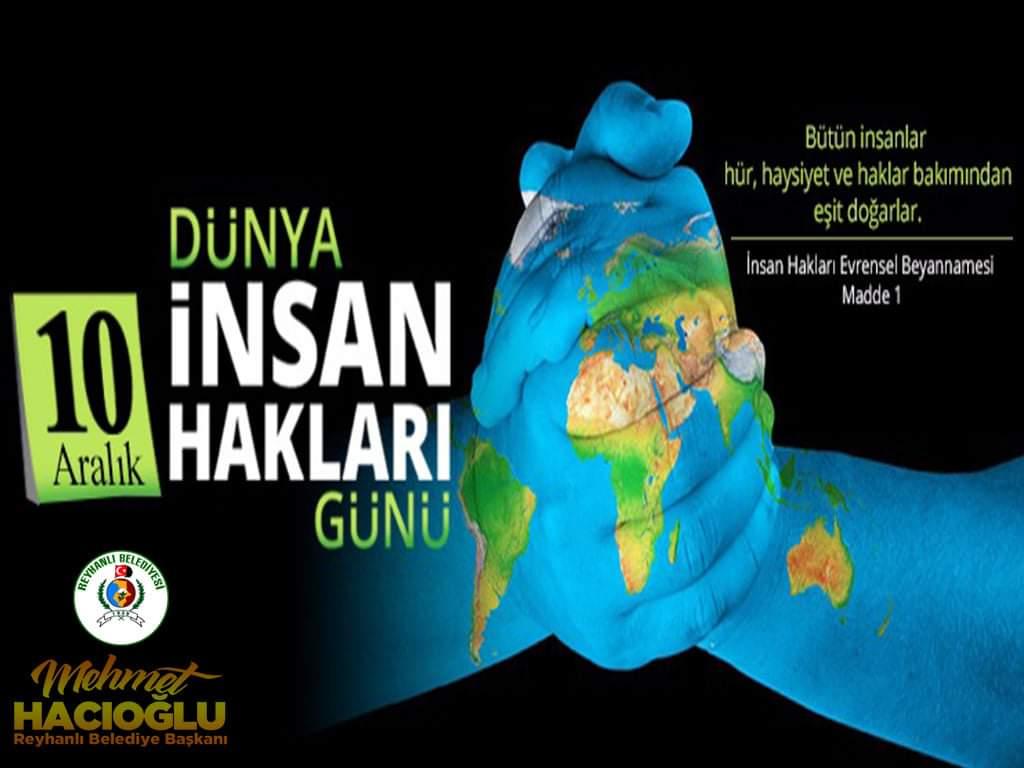 Başkan Hacıoğlu'nun 10 Aralık Dünya İnsan Hakları Günü Mesajı