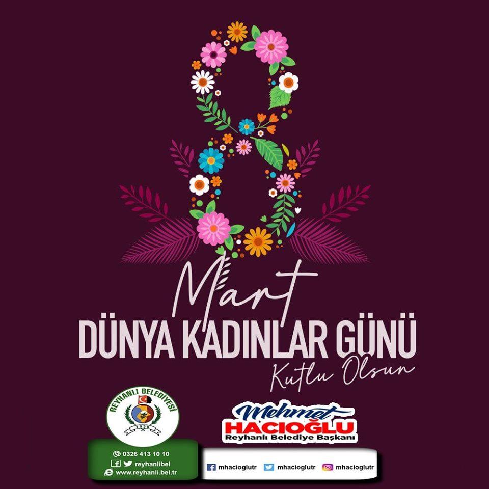 Başkan Hacıoğlu'nun 8 Mart Dünya Kadınlar Günü Mesajı