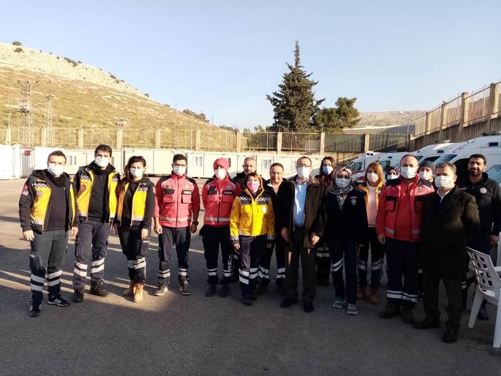 HAMBOLAT'TAN SAĞLIK TESİSLERİNE ZİYARET