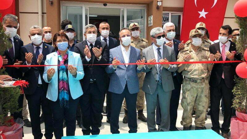 Kale Jandarma Karakol Hizmet Binasının Açılışı Yapıldı