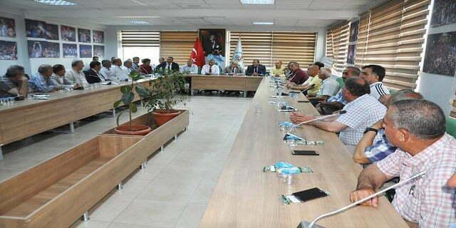 Başkan Şanverdi muhtarlarla sohbet toplantısına katıldı
