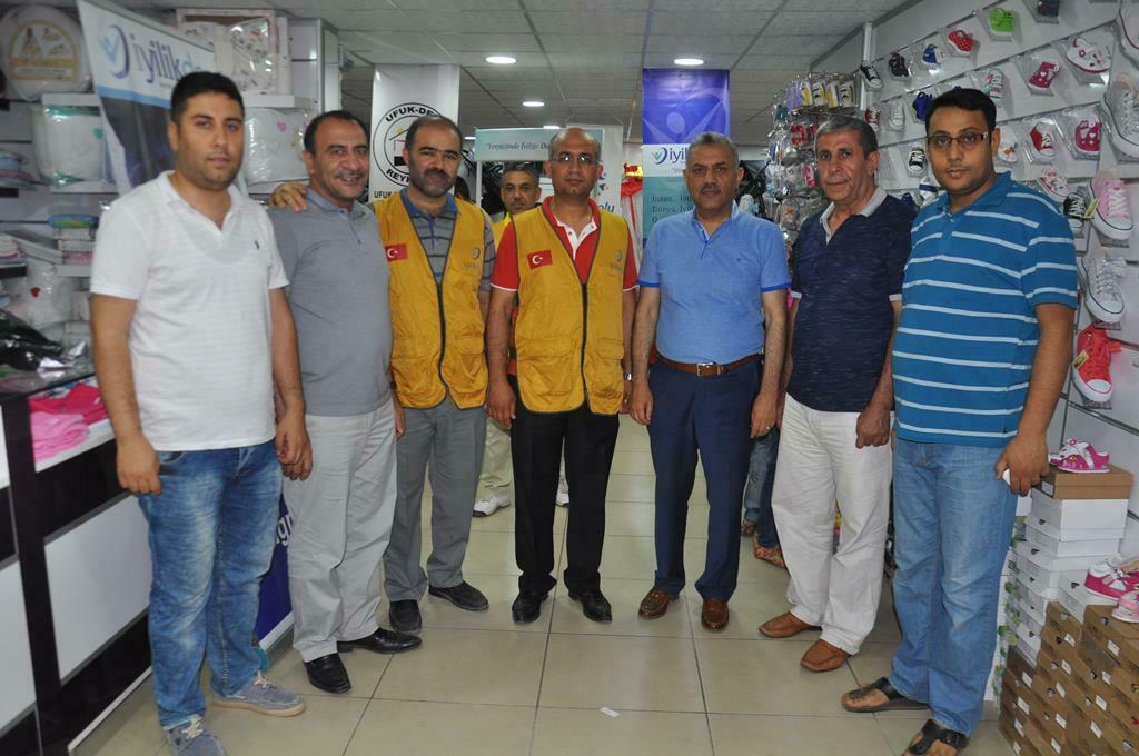 Türk ve Suriyeli Yetimlere Bayramlık