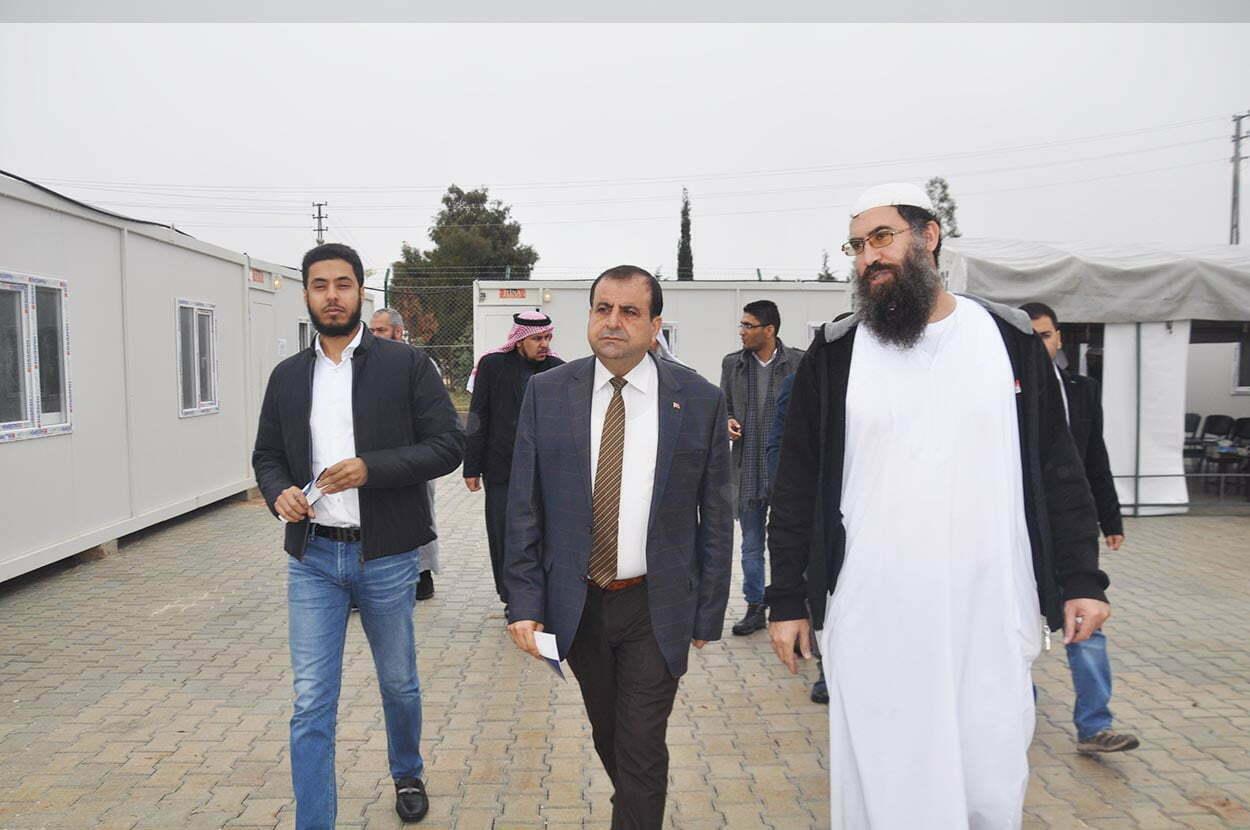 Yumuşak,  Suriyelilerin eğitim göreceği sanat eğitim merkezinin açılışını yaptı