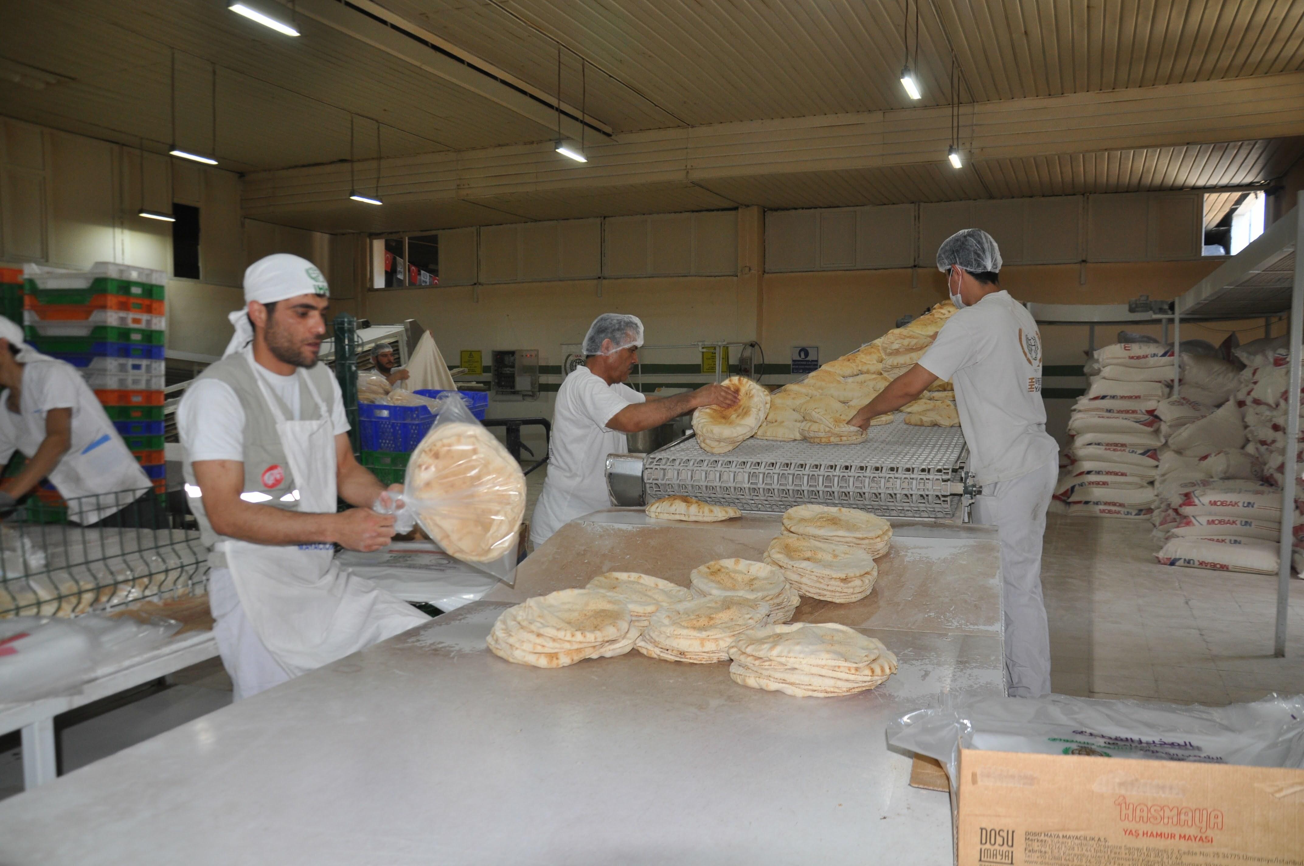 İhh'dan Suriye'ye 550 Milyon Ekmek