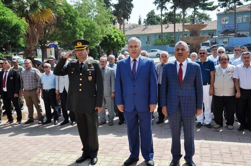 Türk Askeri'nin Reyhanlı'ya  girişinin 77'inci yıldönümü kutlandı