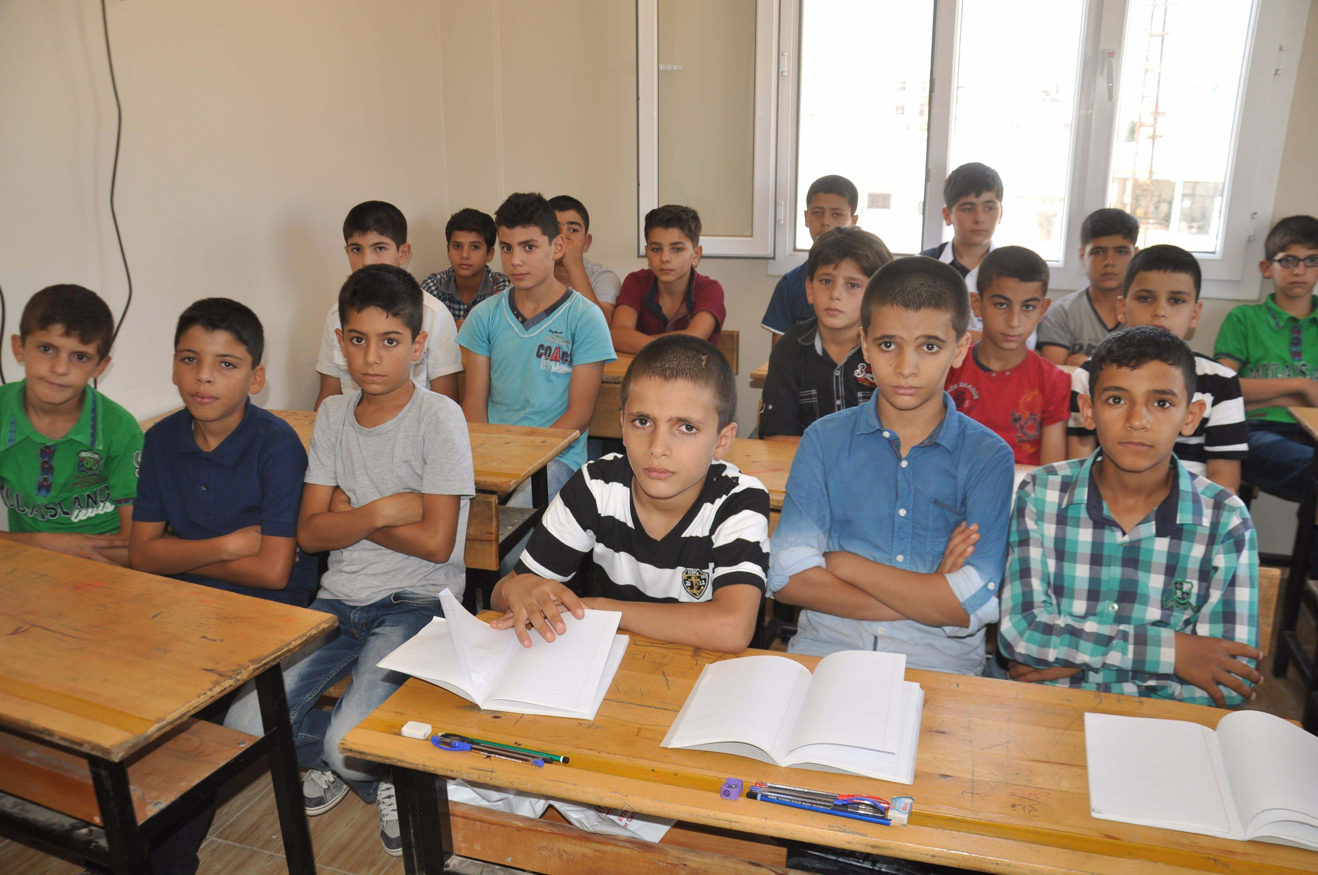 Suriye Geçici Eğitim Merkezleri'nde de eğitim başladı