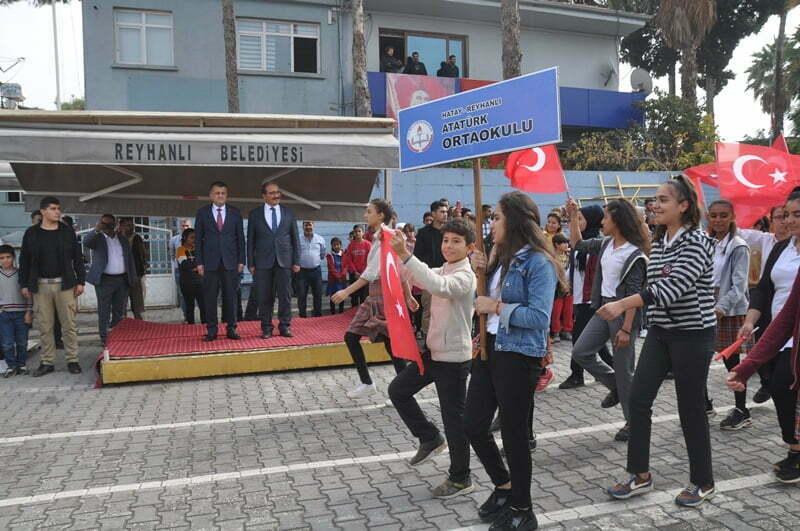 Reyhanlı'da Cumhuriyet Bayramı coşkuyla kutlandı