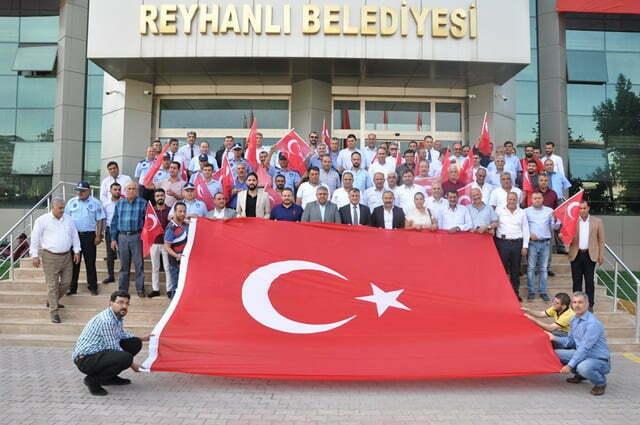 Reyhanlı belediye meclisinden Barış Pınarı Harekatı'na destek