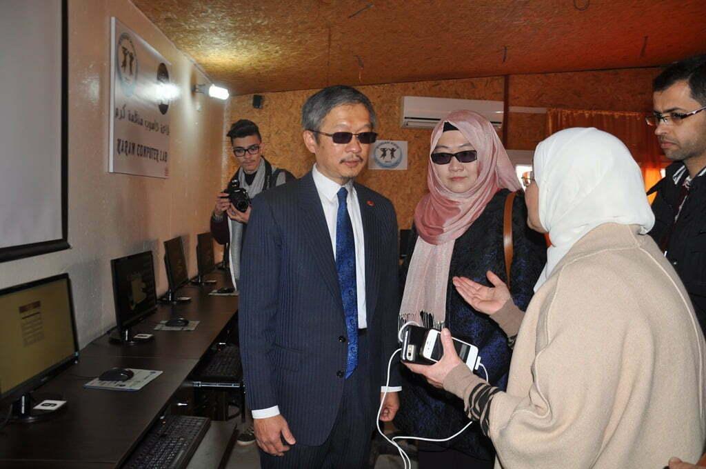 Tayvan Hükümeti Suriyelilere Okul Yaptırıyor
